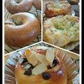 初めての方のパン。まるでパン屋さんみたい!
