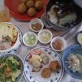 1月の旬食べは、薬膳粥と柚味噌を使って里芋料理をアレンジ。