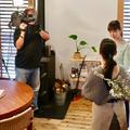 おはよう朝日です(ABC放送)の取材を受けました。