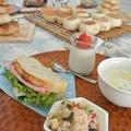 元イタリアンレストラン勤務の講師が作る、簡単なランチをご用意