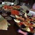テレビ局の取材があった時のスペイン料理レッスン風景です。