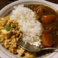 マーボー豆腐もカレーも食べたい、そんな方におすすめ。