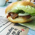 サンドイッチレッスン 照り焼きチキンバーガー