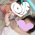 赤ちゃん同士の交流❤︎笑