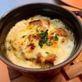 ケイジャンチキンのカマンベールチーズオーブン焼き