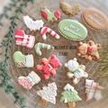 アイシングクッキー〜カラフルクリスマス〜