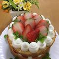 ネイキッドケーキ(初心者さん向け)