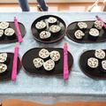 桃の花の飾り巻き教室