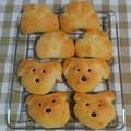 レッスンで作成するパンです。