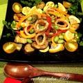 イカと夏野菜の簡単エスニックマリネ