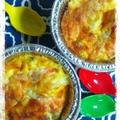 『鰹だしつゆもずく』卵ふんわりオーブンオムレツ