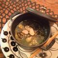 もずくと牡蠣の蒸し物