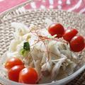レンコンとごぼうのサラダ