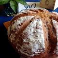 米粉と雑穀のカンパーニュ