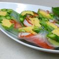 生春巻きサラダ