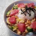 名物納豆のバクダン丼