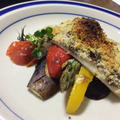 鯛と彩り野菜の包み焼き