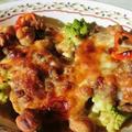 豆豆フレンチトーストグラタン
