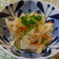 ジャコ大根サラダ