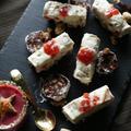 【デザート①】チーズベリーセミフレッドケーキ