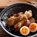 鶏手羽元とさつま芋の甘辛煮