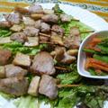 ヒレ肉とエリンギの串揚げ
