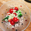 オクラとトマトのマスタードマリネ