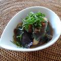 夏野菜とササミの揚げびたし