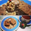 米粉と炒りぬかのスパイス×キャロブケーキ