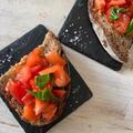 トマトとオリーブオイルのブルスケッタ