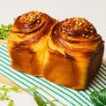 キャラメル香る折り込みパン