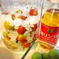 梅シロップ、白砂糖または氷砂糖&お酢