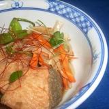鮭の南蛮漬けジャスミン茶風味
