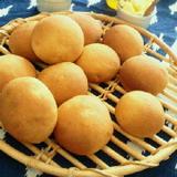 米粉ピザミックス粉のシンプル丸パン