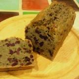 黒米マフインミックス粉の紫芋入りパウンドケーキ
