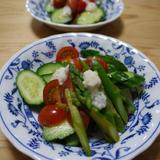 塩麹のサラダ
