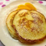「BP控えめな米粉の卵白パンケーキ」