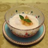 桃のフワとろゼリー ミント風味