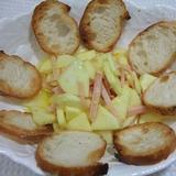 ハムとリンゴのサラダ