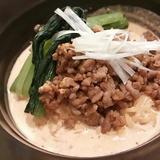 濃久里夢を使用した豆乳坦々麺