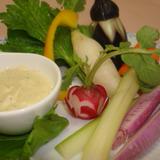 色どり野菜のソイバーニャカウダー
