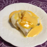 白身魚のオランデーズソース