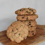ライ麦とオート麦のざくざくクッキー