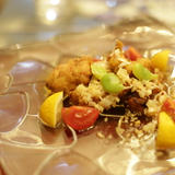 かじきまぐろ魚カツ バルサミコソース