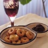ドライプルーンの赤ワイン&カシス煮
