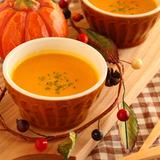 気分もほっこり♪かぼちゃのポタージュスープ
