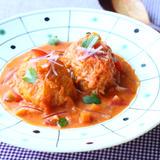 ロールキャベツ トマトクリームスープ煮クミン風味