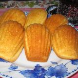 エキストラバージンココナッツオイルのマドレーヌ
