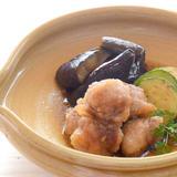 豚肉と季節野菜の焼き浸し