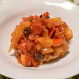 フルーツ入り豚のトマト煮